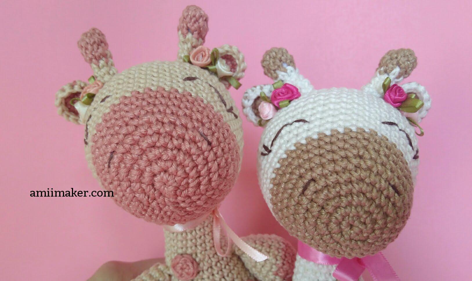 Girafa amigurumi | crochê | Tommy | Amigurumi de animais de crochê ... | 969x1627