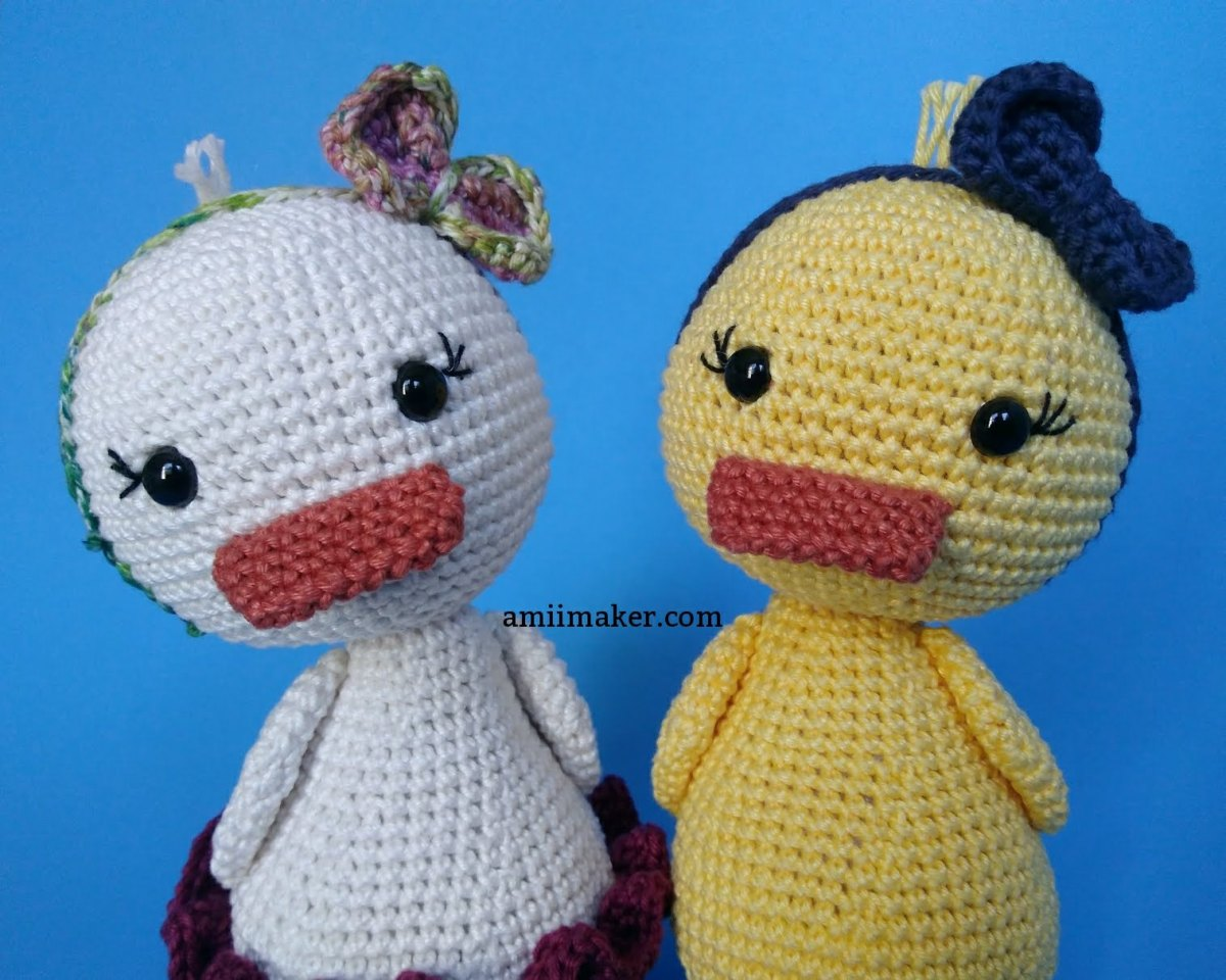 Passo a passo: Donna, a Patinha/ Pattern: Donna, the Duck